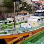渡辺釣船店の乗船手順