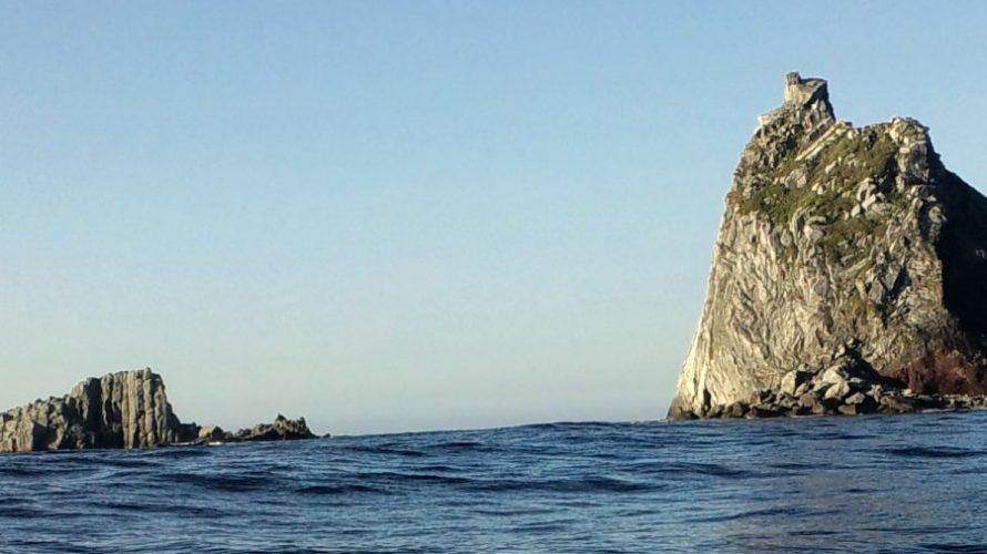 三本岳マカド根で尾長グレを釣る