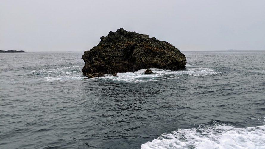 2020年6月の石廊崎沖磯釣行~沖丸(沖の丸島)